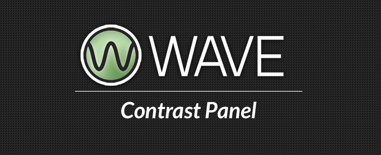 WAVE - Contrast Panel